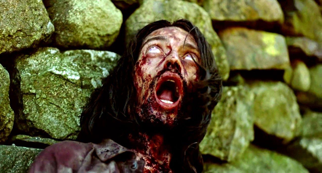 28 DAYS LATER horror sci-fi thriller dark zombie blood wallpaper