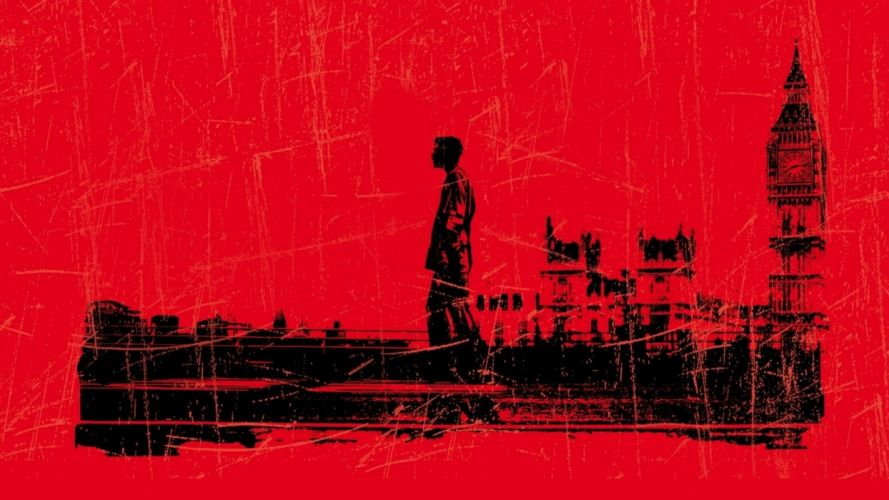 28 DAYS LATER horror sci-fi thriller dark zombie wallpaper