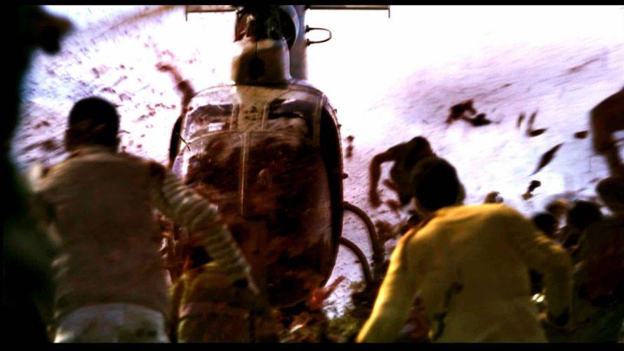 28 DAYS LATER horror sci-fi thriller dark zombie apocalyptic blood gore wallpaper