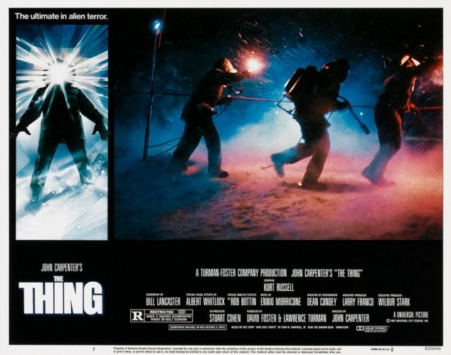 THE THING horror mystery thriller sci-fi poster g wallpaper