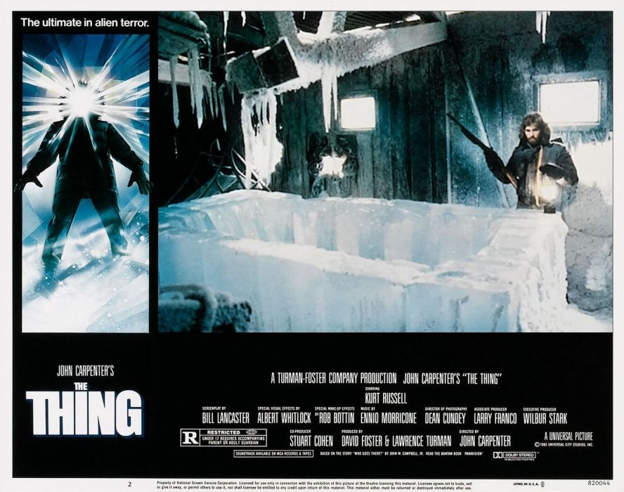 THE THING horror mystery thriller sci-fi poster    i wallpaper