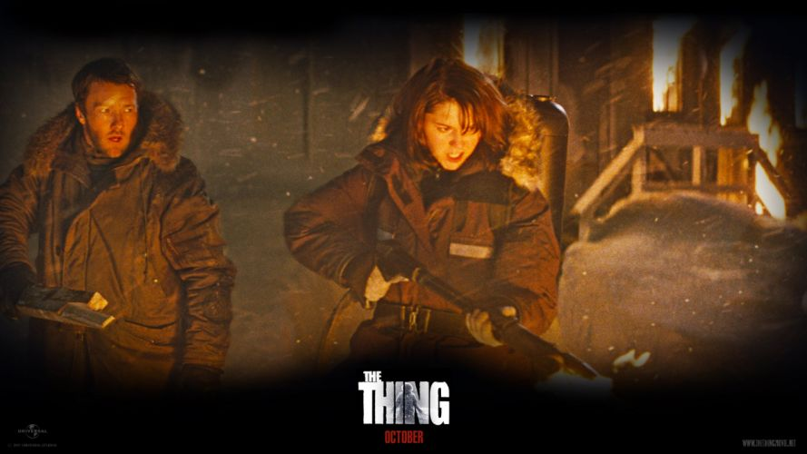 THE THING horror mystery thriller sci-fi poster c wallpaper