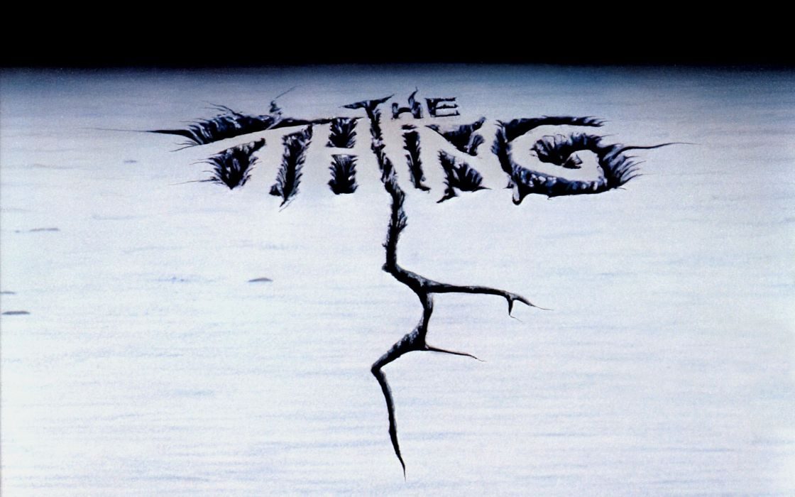 THE THING horror mystery thriller sci-fi poster  vb wallpaper