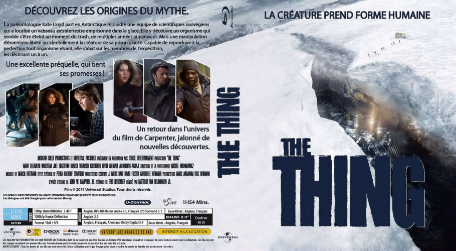 THE THING horror mystery thriller sci-fi poster french g wallpaper
