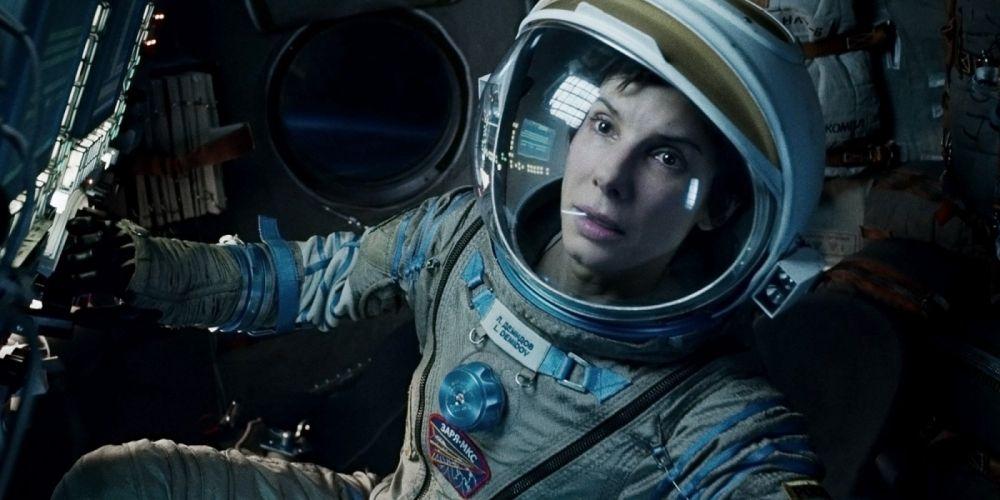 GRAVITY drama sci-fi thriller space astronaut fs wallpaper