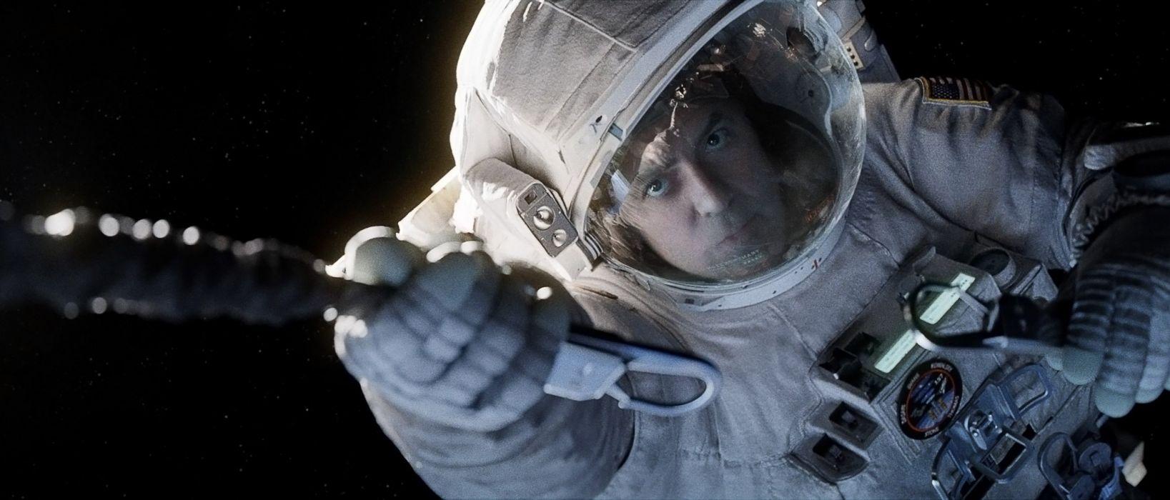 GRAVITY drama sci-fi thriller space astronaut   te wallpaper