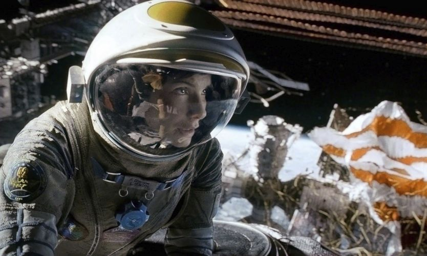GRAVITY drama sci-fi thriller space astronaut re wallpaper