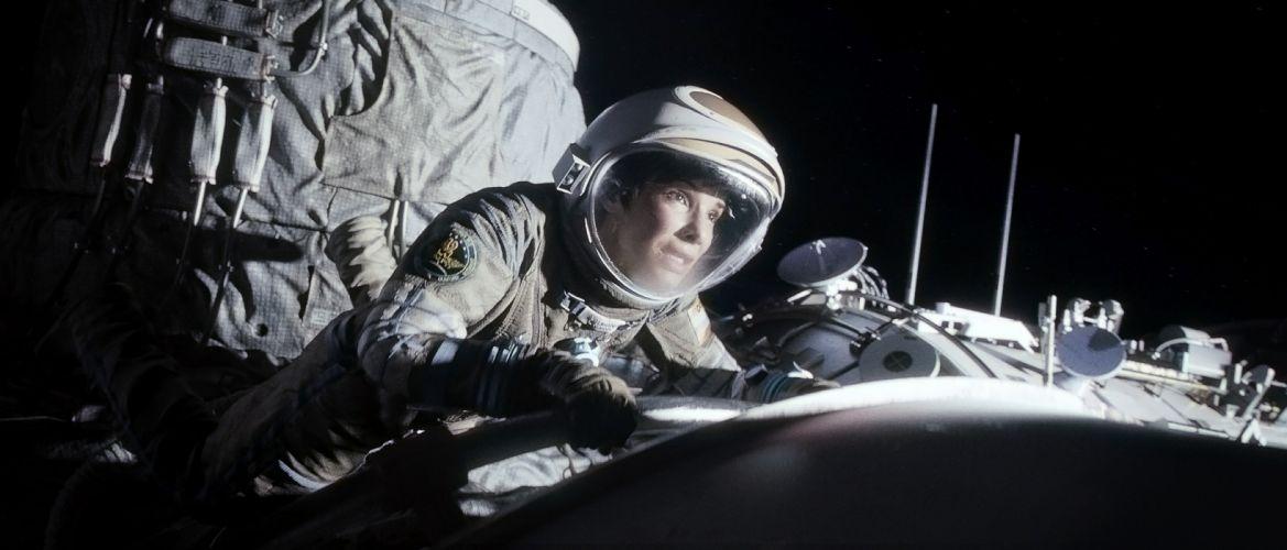 GRAVITY drama sci-fi thriller space astronaut ti wallpaper