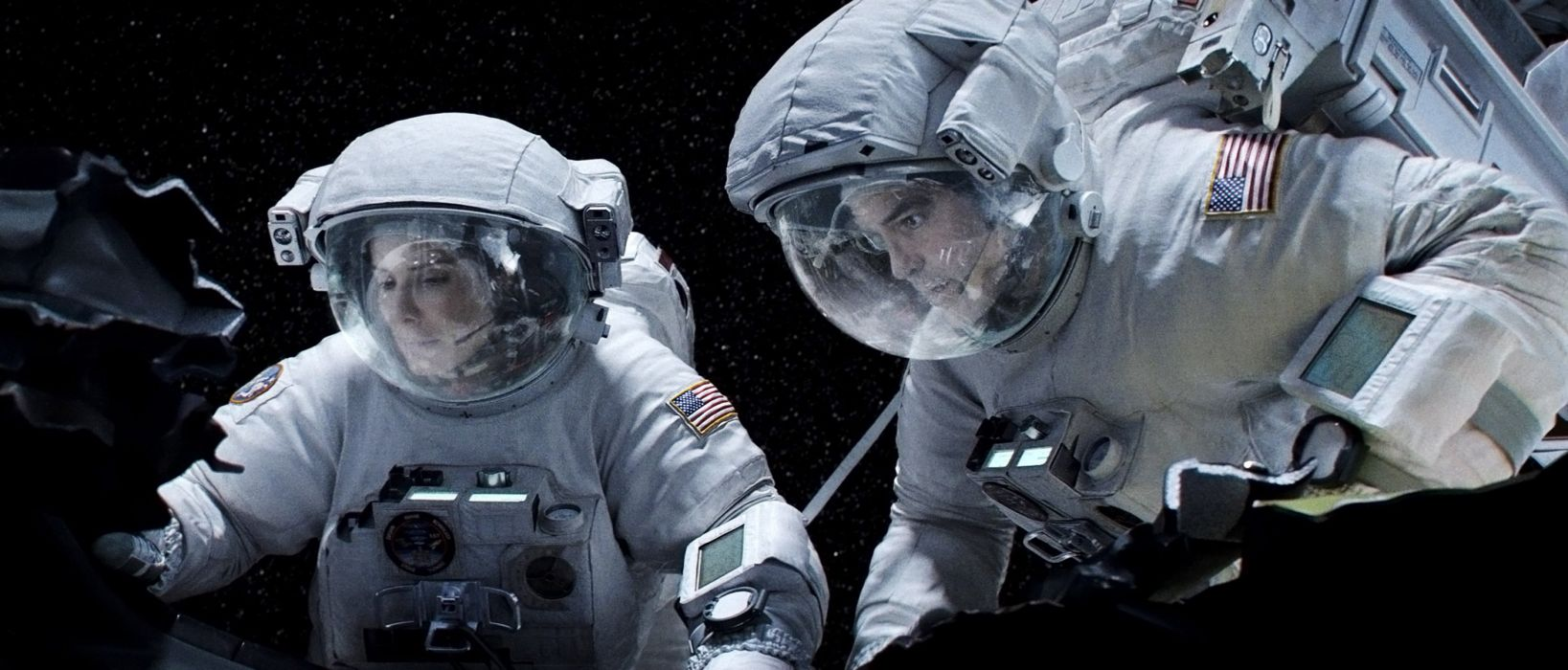 GRAVITY drama sci-fi thriller space astronaut  r wallpaper