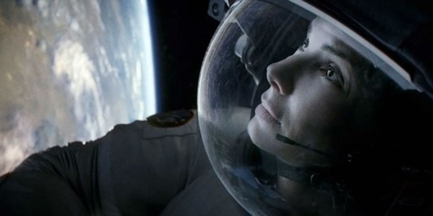 GRAVITY drama sci-fi thriller space astronaut hd wallpaper