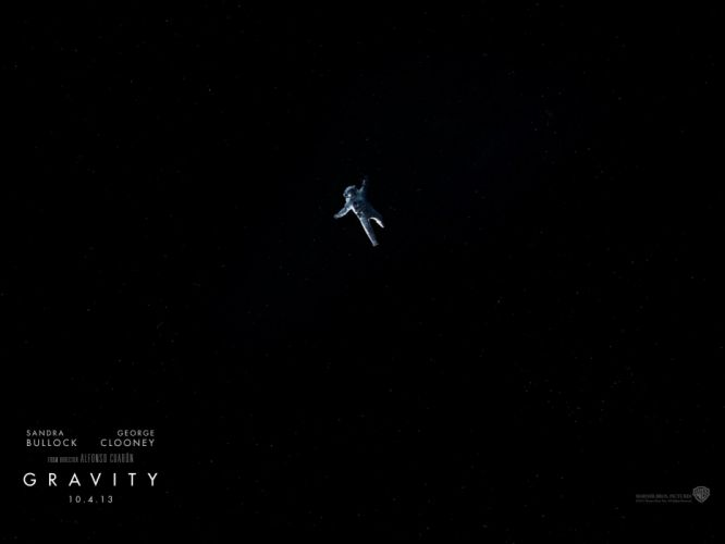 GRAVITY drama sci-fi thriller space astronaut poster f wallpaper