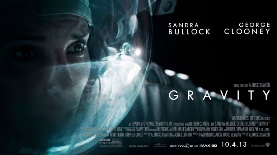 GRAVITY drama sci-fi thriller space astronaut poster g wallpaper