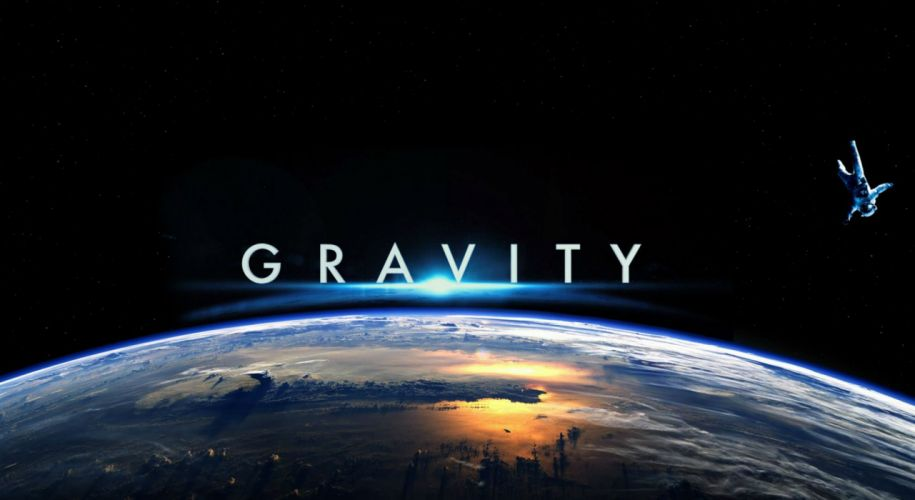 GRAVITY drama sci-fi thriller space astronaut poster jd wallpaper