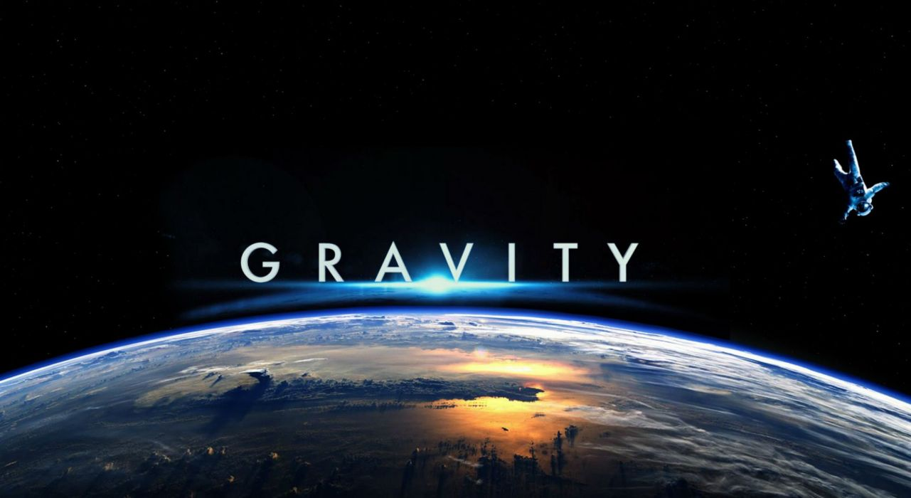 GRAVITY drama sci-fi thriller space astronaut poster   jd wallpaper