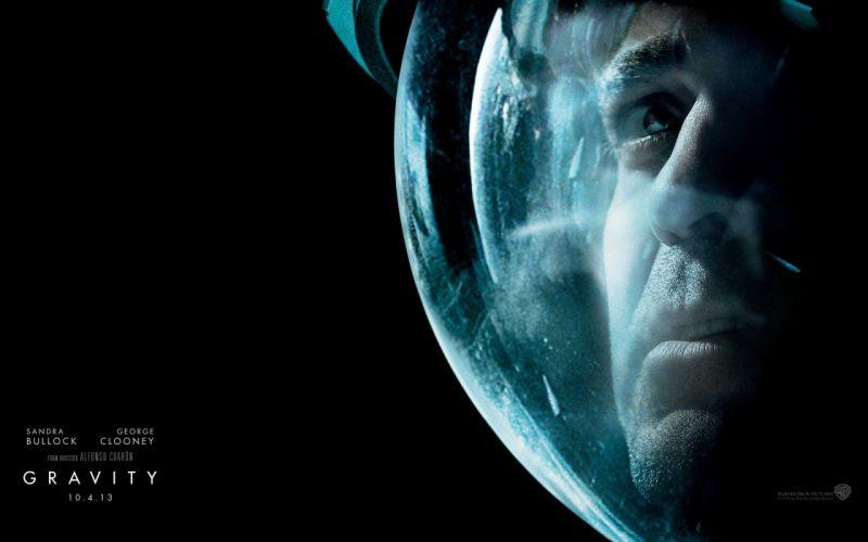 GRAVITY drama sci-fi thriller space astronaut poster g wallpaper