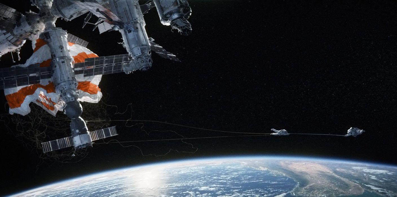GRAVITY drama sci-fi thriller space astronaut spaceship planet    h wallpaper