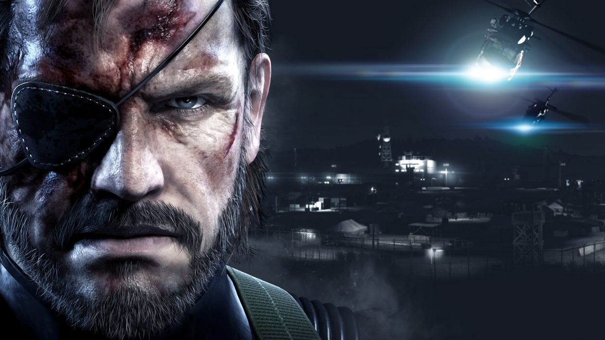 METAL-GEAR-SOLID V: GROUND-ZEROES wallpaper