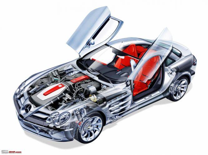 cars Mercedes-Benz Mercedes-Benz SLR McLaren wallpaper