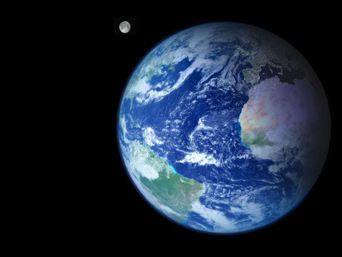 planets Earth wallpaper