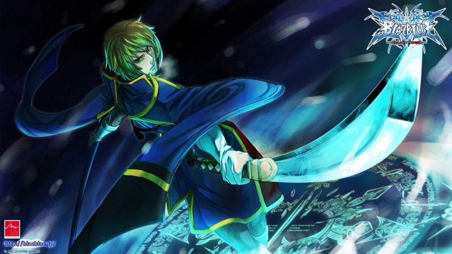 video games Blazblue Jin Kisaragi wallpaper