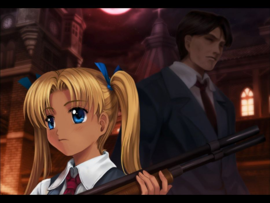 Gunslinger Girl anime wallpaper