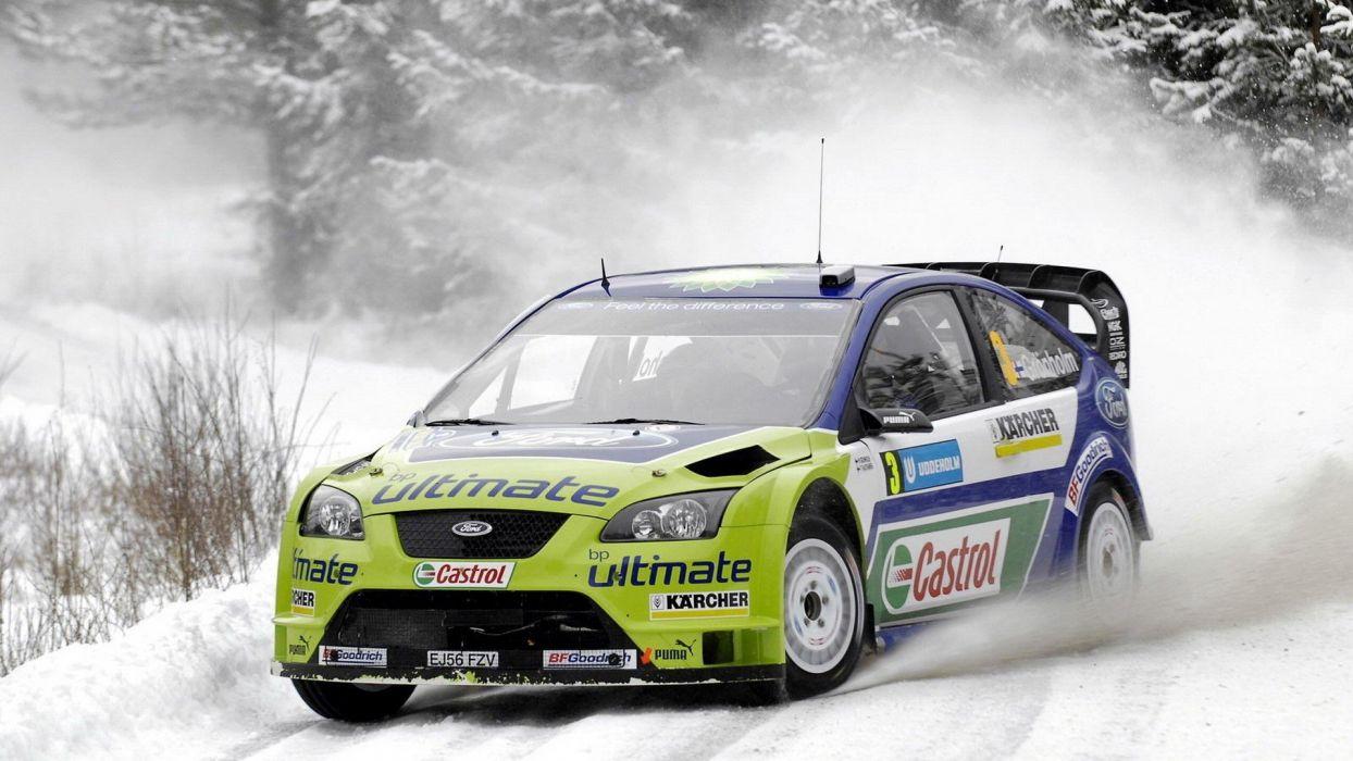 winter sports WRC wallpaper
