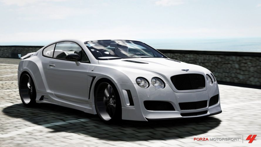 video games cars Xbox 360 Bentley Continental Forza Motorsport 4 wallpaper