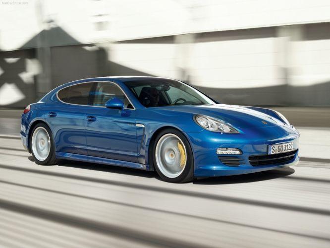 cars Hybrid Porsche Panamera wallpaper