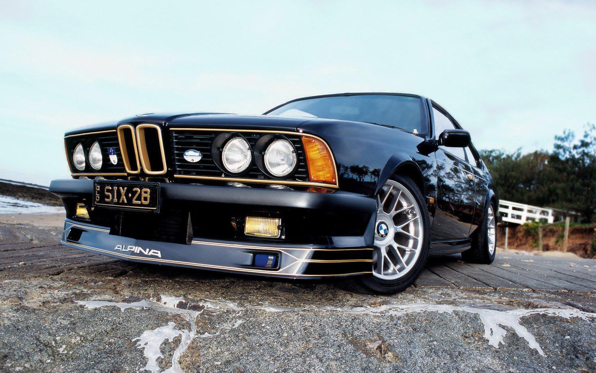Bmw Cars Asphalt Reflections Alpina Low Angle Shot