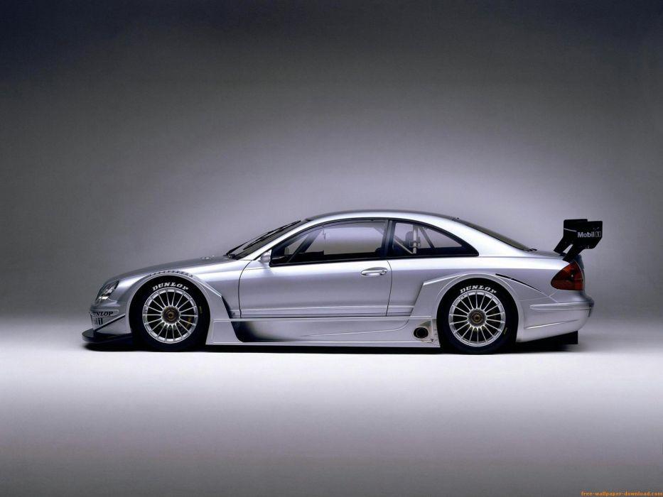cars vehicles Mercedes-Benz CLK DTM wallpaper