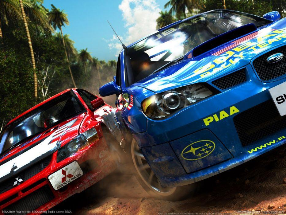 Sega Entertainment rally wallpaper