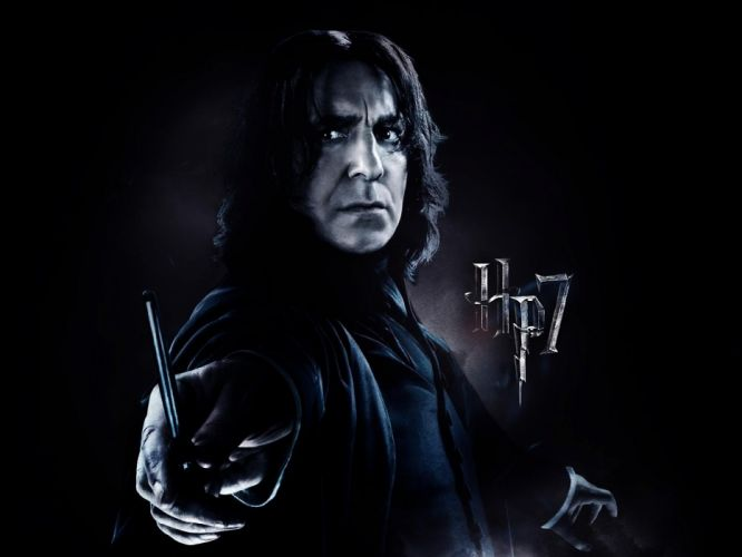 movies Harry Potter Harry Potter and the Deathly Hallows Alan Rickman Severus Snape wallpaper