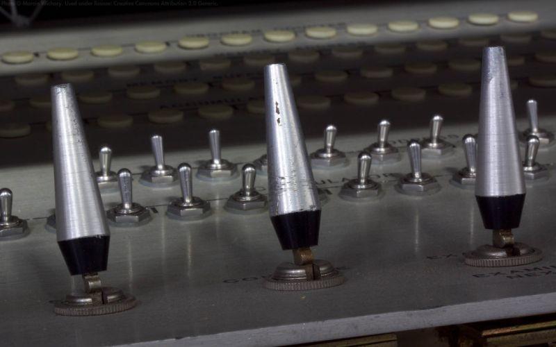 computers history Marcin Wichary DEC PDP-1 wallpaper