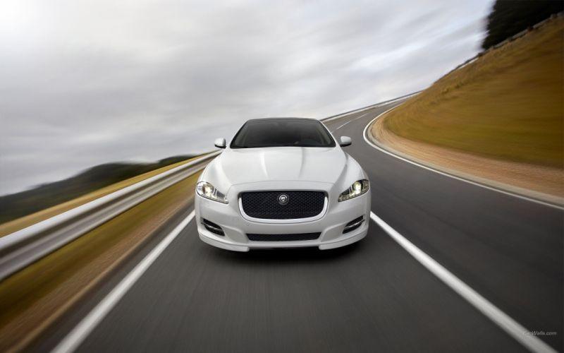 cars Jaguar XJ wallpaper