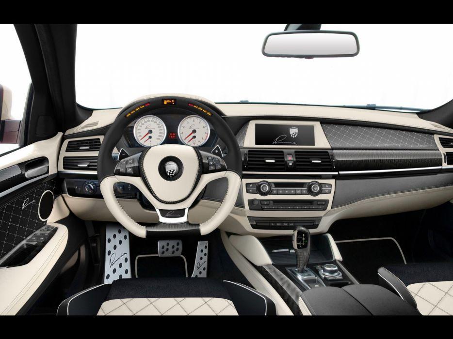 design dashboards BMW X6 wallpaper