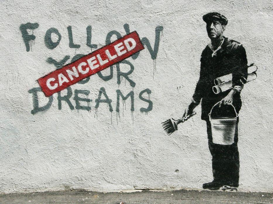 text Banksy Boston wallpaper