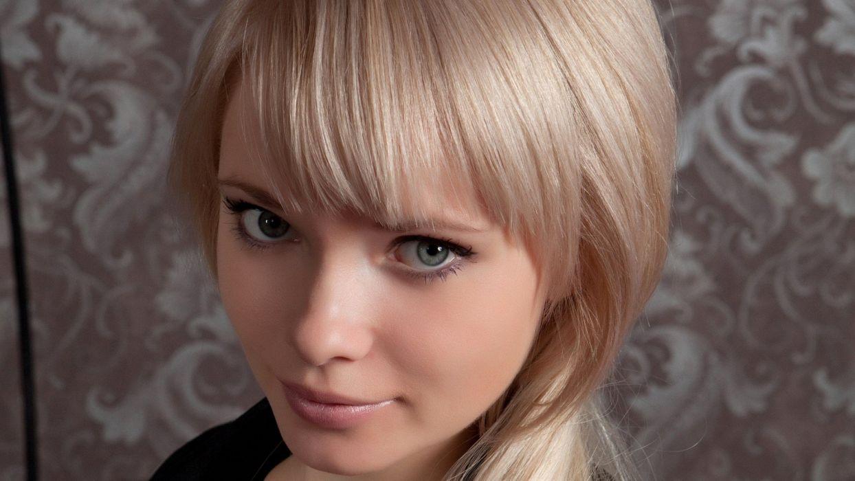 blondes women models Feeona A wallpaper
