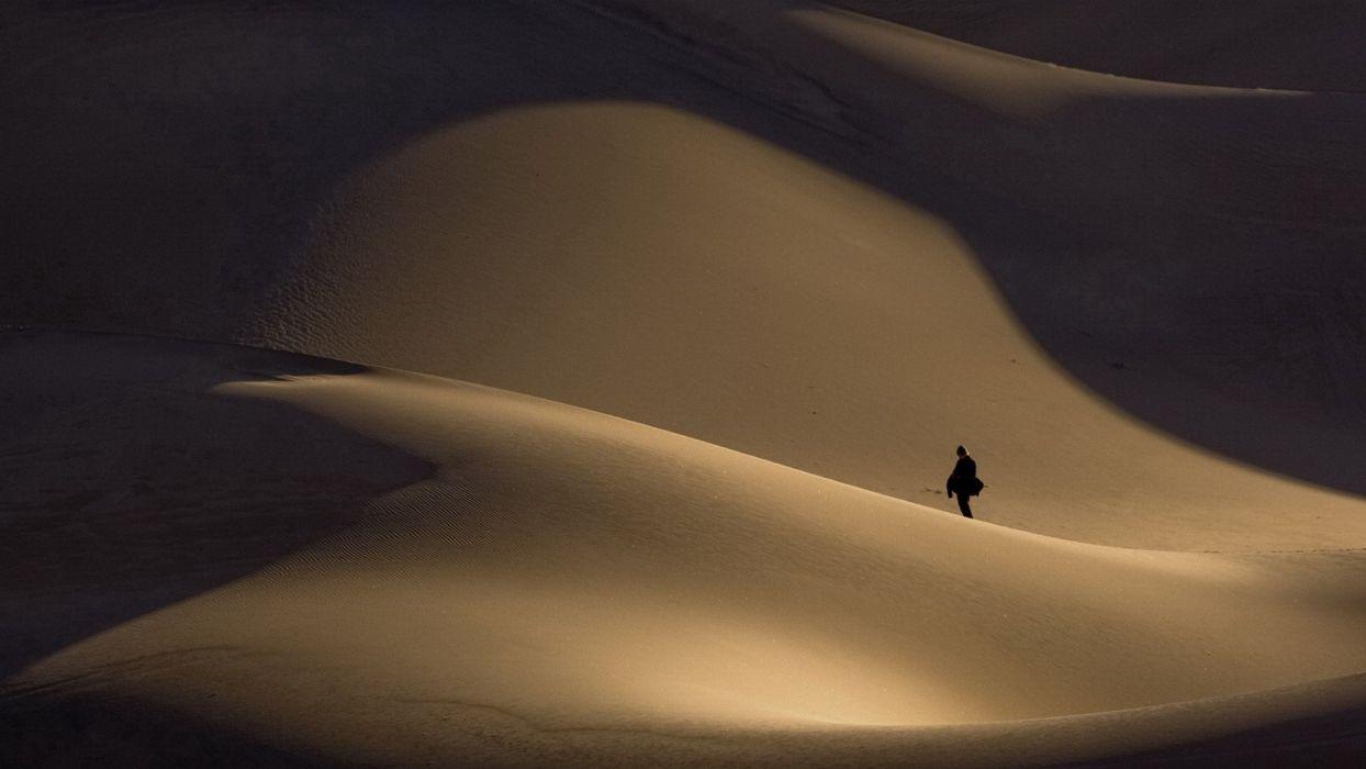 deserts sand dunes wallpaper