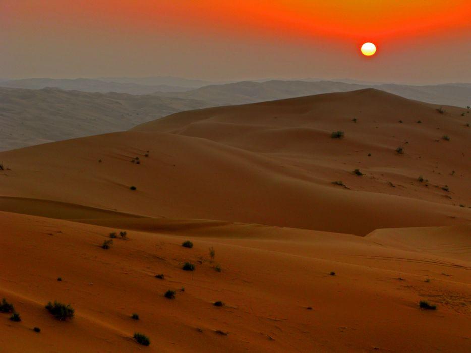 Rub al khalid sunset nov 07_JPG wallpaper