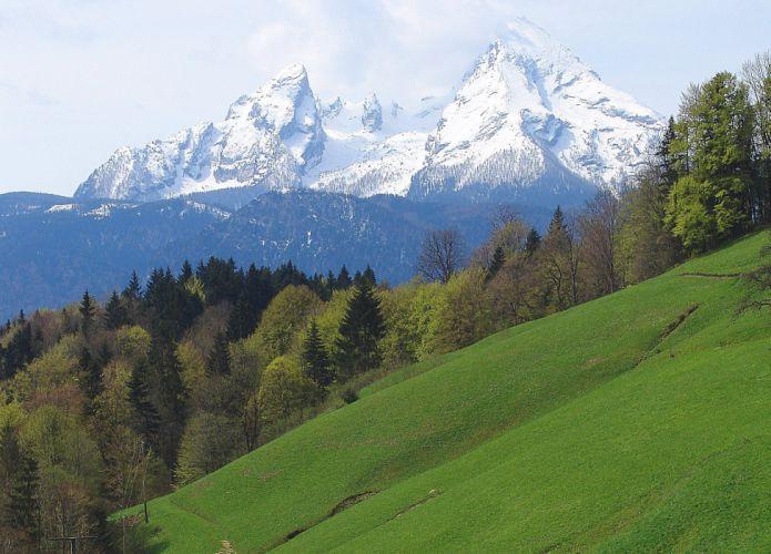 Watzmann bei Berchtesgaden Germany wallpaper