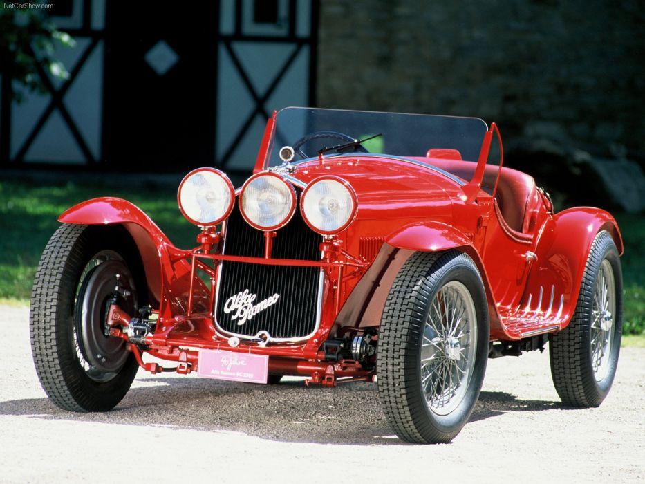 Alfa Romeo-8C 2300 1931 1600x1200 wallpaper 01 wallpaper