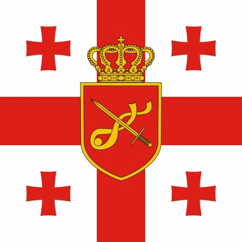 2000px-Georgia_ Standard of Minister of Defence_svg wallpaper