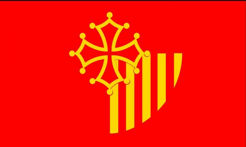 2000px-Languedoc Roussillon flag_svg wallpaper