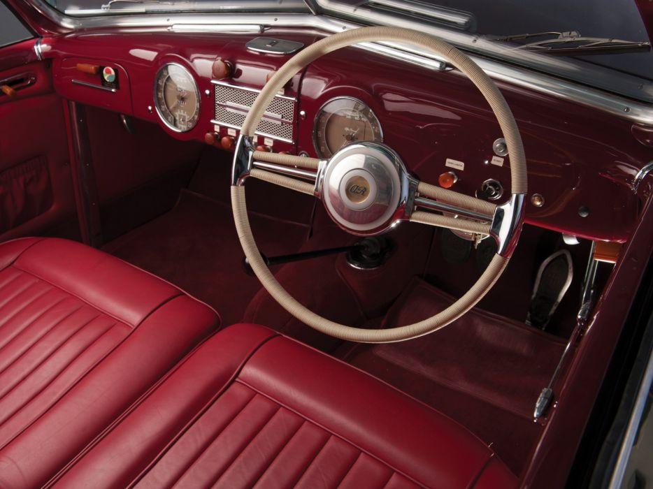 1947-51 Alfa Romeo 6-C 2500 S-S Cabriolet retro convertible interior    g wallpaper