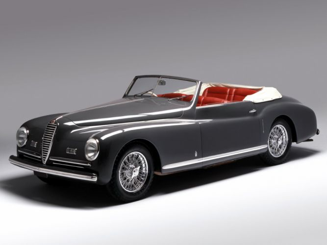 1947-51 Alfa Romeo 6-C 2500 S-S Cabriolet retro convertible r wallpaper
