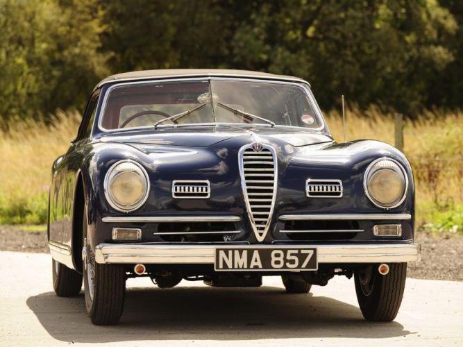 1947-51 Alfa Romeo 6-C 2500 S-S Cabriolet retro convertible gd wallpaper