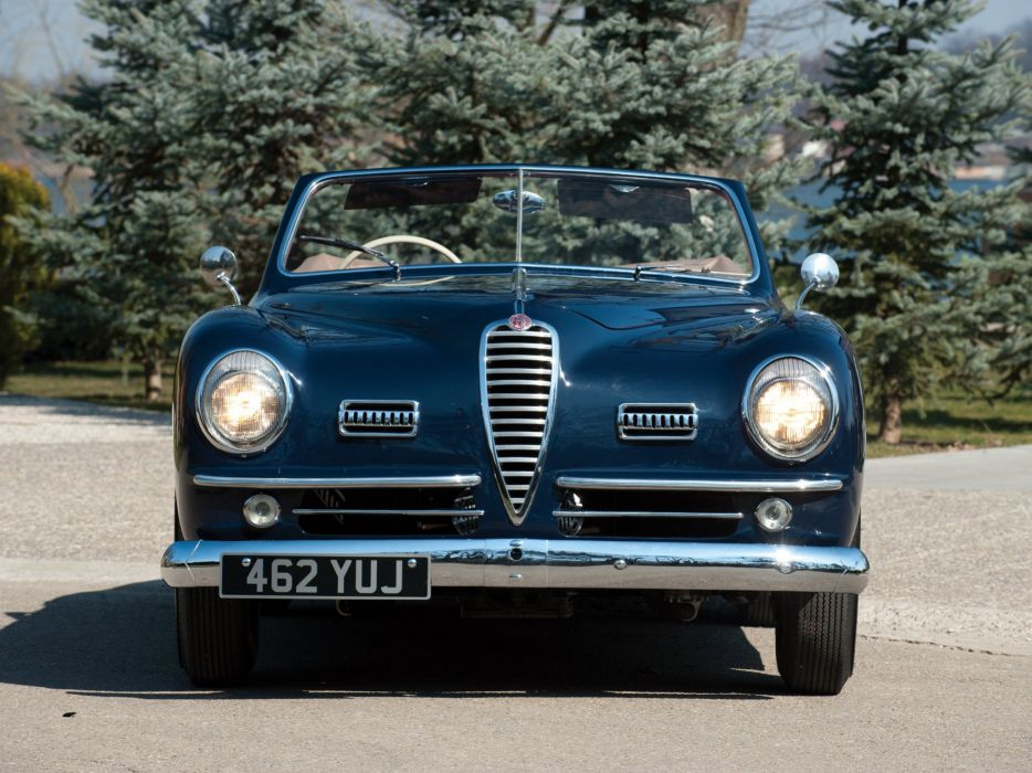 1947-51 Alfa Romeo 6-C 2500 S-S Cabriolet retro convertible    h wallpaper