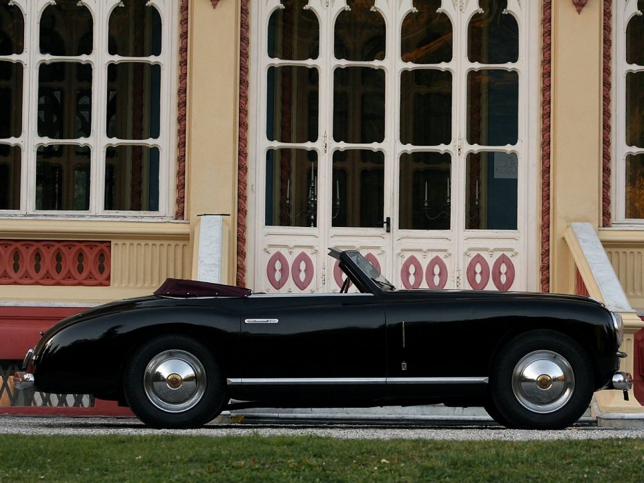 1947-51 Alfa Romeo 6-C 2500 S-S Cabriolet retro convertible     g wallpaper