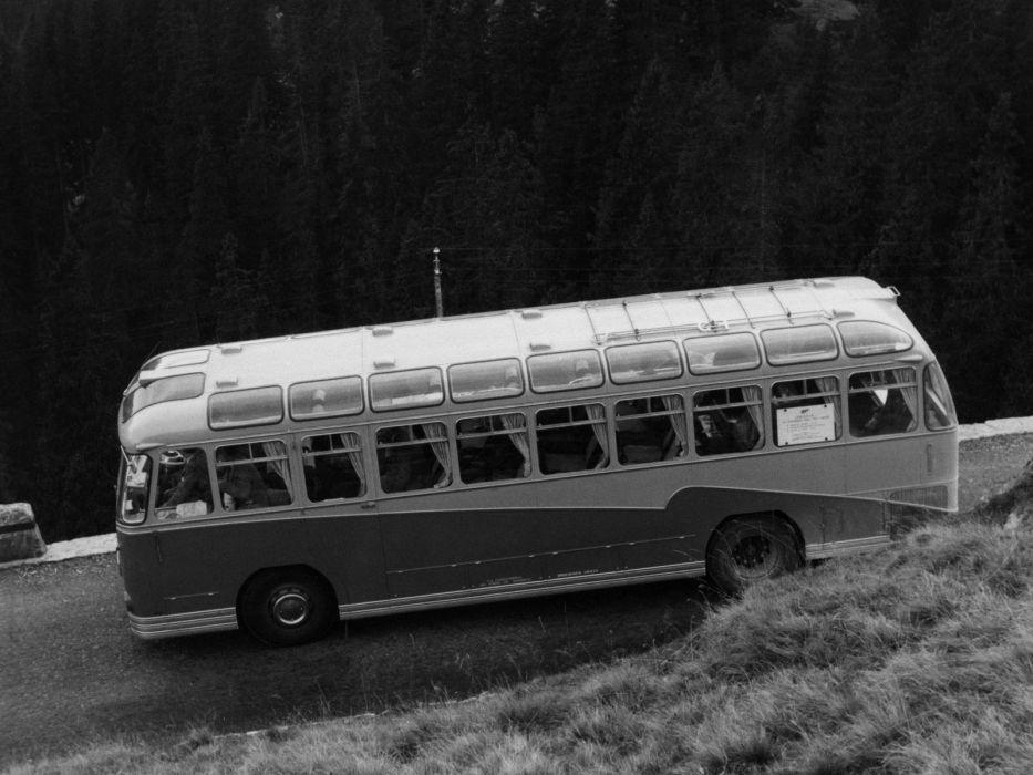 1951 Metalcraft Foden PVRF6 bus transport semi tractor retro    g wallpaper