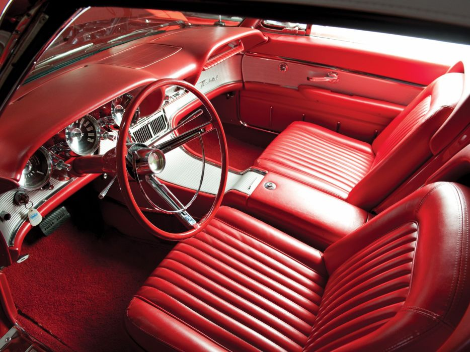 1962 Ford Thunderbird Sports Roadster classic 76b convertible luxury interior   g wallpaper